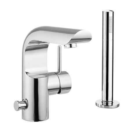 Crosswater - Elite Monobloc Bath Shower Mixer with Kit - EL410DC