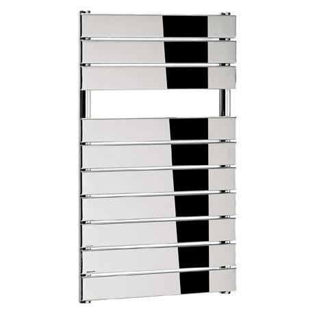 Bauhaus - Elite Flat Panel Towel Rail - Chrome - Various Size Options