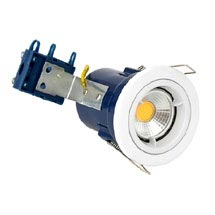 Forum Electralite Fixed White Fire Rated Downlight - ELA-27465-WHT Medium Image