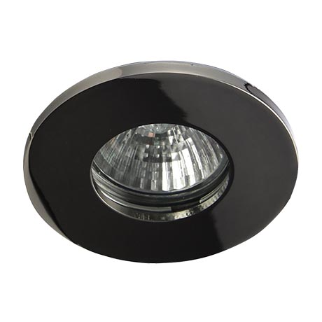Forum Electralite IP65 Black Chrome Shower Downlight - ELA-27467-BCHR