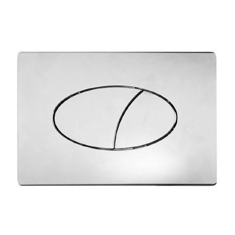 Roper Rhodes Ellipse Dual Flush Push Plate - TR9004