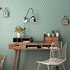 Elise Aquamarine Hexagon Wall and Floor Tiles - 170 x 520mm Small Image