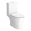 Elite Rimless Close Coupled Toilet + Soft Close Seat profile small image view 1