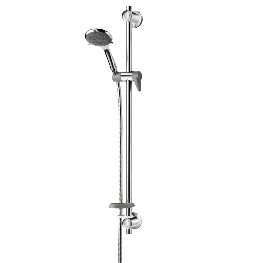 Triton Elina Exposed TMV3 Concentric Shower Valve & Grab Riser Kit - ELICMINCEX Profile Large Image