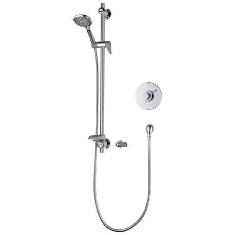 Triton Elina Built-In TMV3 Concentric Shower Valve & Grab Riser Kit - ELICMINCBT