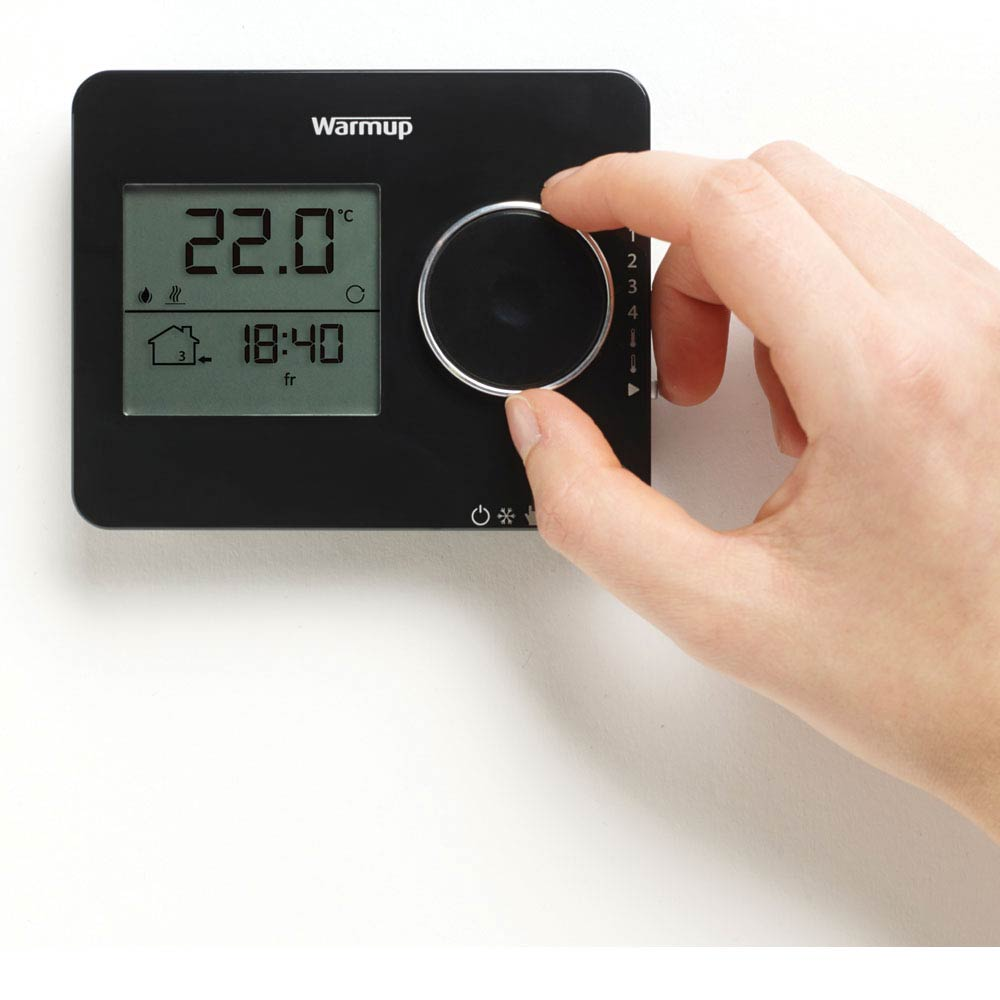 Warmup Tempo Digital Programmable Thermostat  Profile Large Image