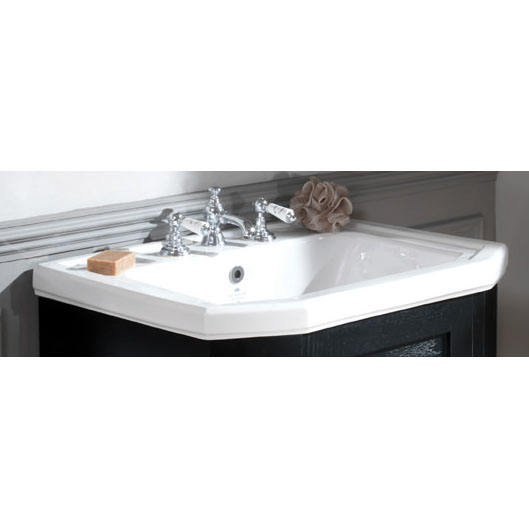 Silverdale Empire 700mm 1TH Vanity Basin with Logo