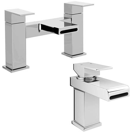 Empire Modern Tap Package (Bath + Basin Tap)