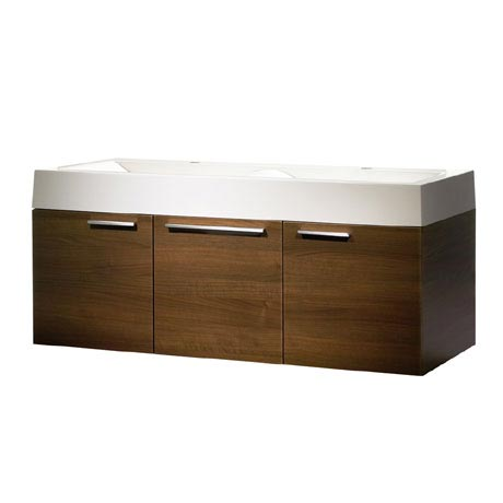Roper Rhodes Envy 1200mm Double Wall Mounted Unit - Walnut