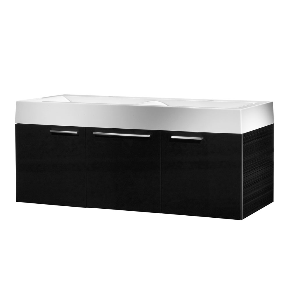 Roper Rhodes Envy 1200mm Double Wall Mounted Unit - Anthracite Large Image