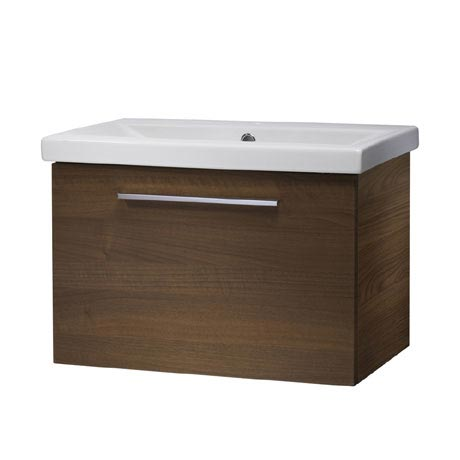 Roper Rhodes Envy 600mm Wall Mounted Unit - Walnut