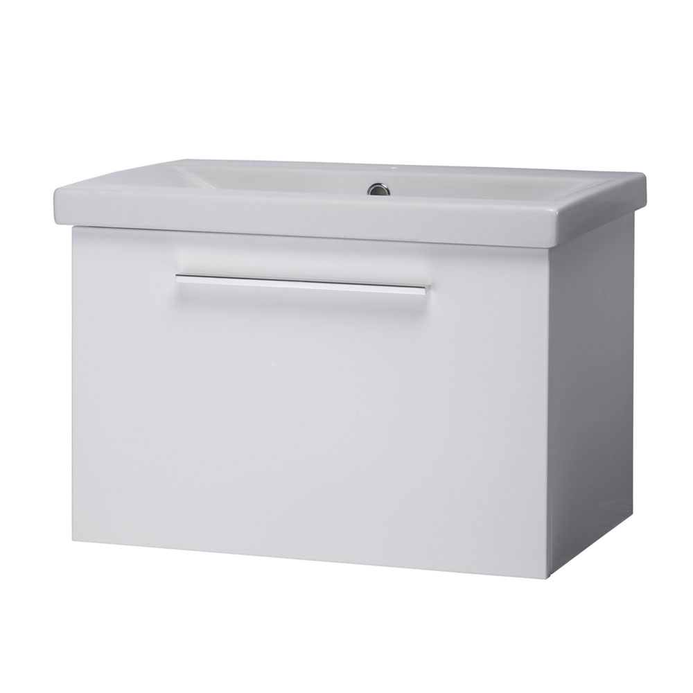 Roper Rhodes Envy 600mm Wall Mounted Unit - Gloss White Large Image