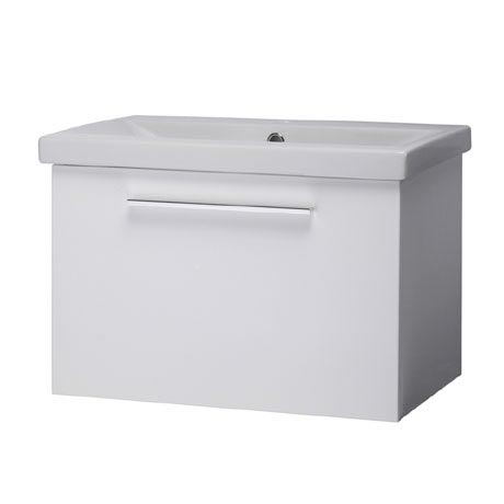 Roper Rhodes Envy 600mm Wall Mounted Unit - Gloss White
