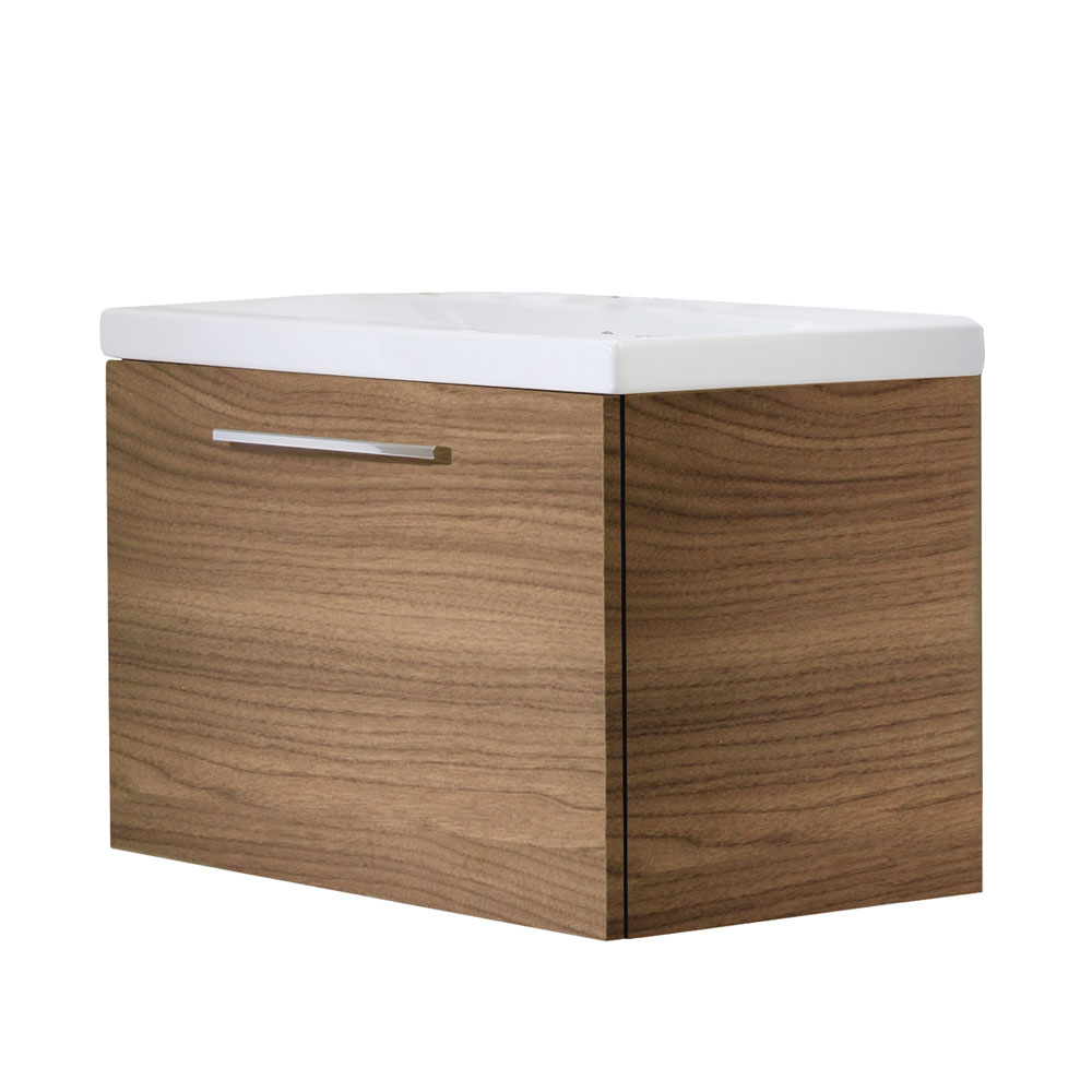 Roper Rhodes Envy 700mm Wall Mounted Unit - Walnut Large Image