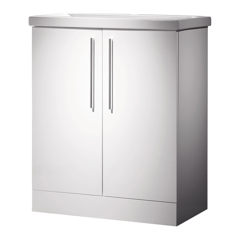 Roper Rhodes Envy 700mm Freestanding Unit - Gloss White Large Image
