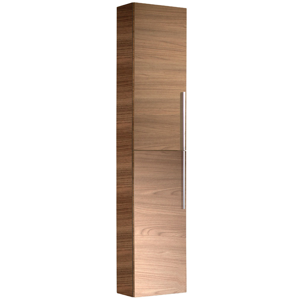Roper Rhodes 300mm Tall Bathroom Storage Cupboard - Walnut profile large image view 1