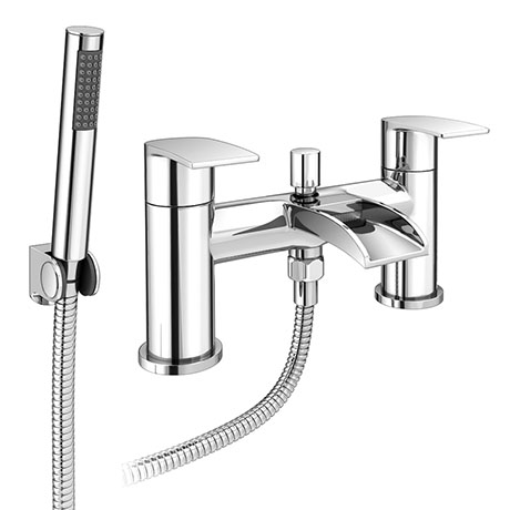 Enzo Waterfall Bath Shower Mixer Taps