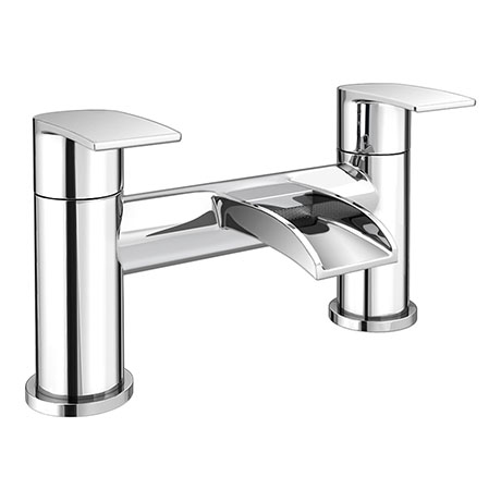 Enzo Waterfall Modern Bath Taps
