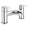 Enzo Waterfall Modern Bath Taps Medium Image