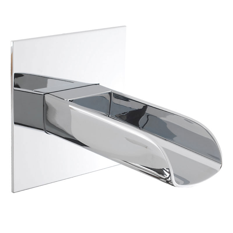Crosswater Digital Enzo Solo with Bath Spout profile large image view 6