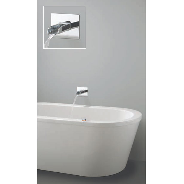 Crosswater Digital Enzo Solo with Bath Spout profile large image view 1