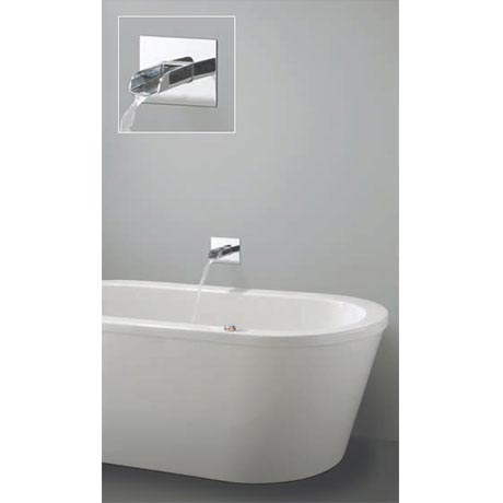 Crosswater Digital Enzo Solo with Bath Spout