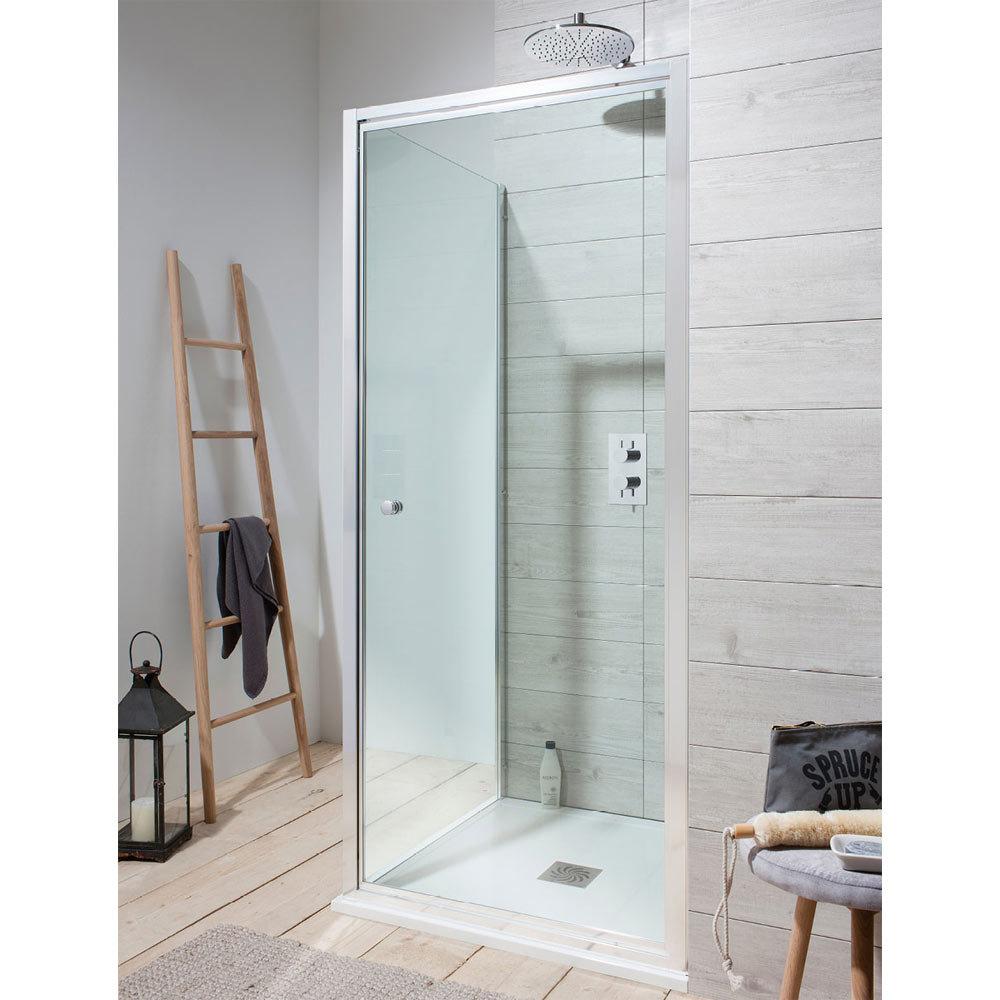 Crosswater - Edge Pivot Shower Door - 5 Size Options