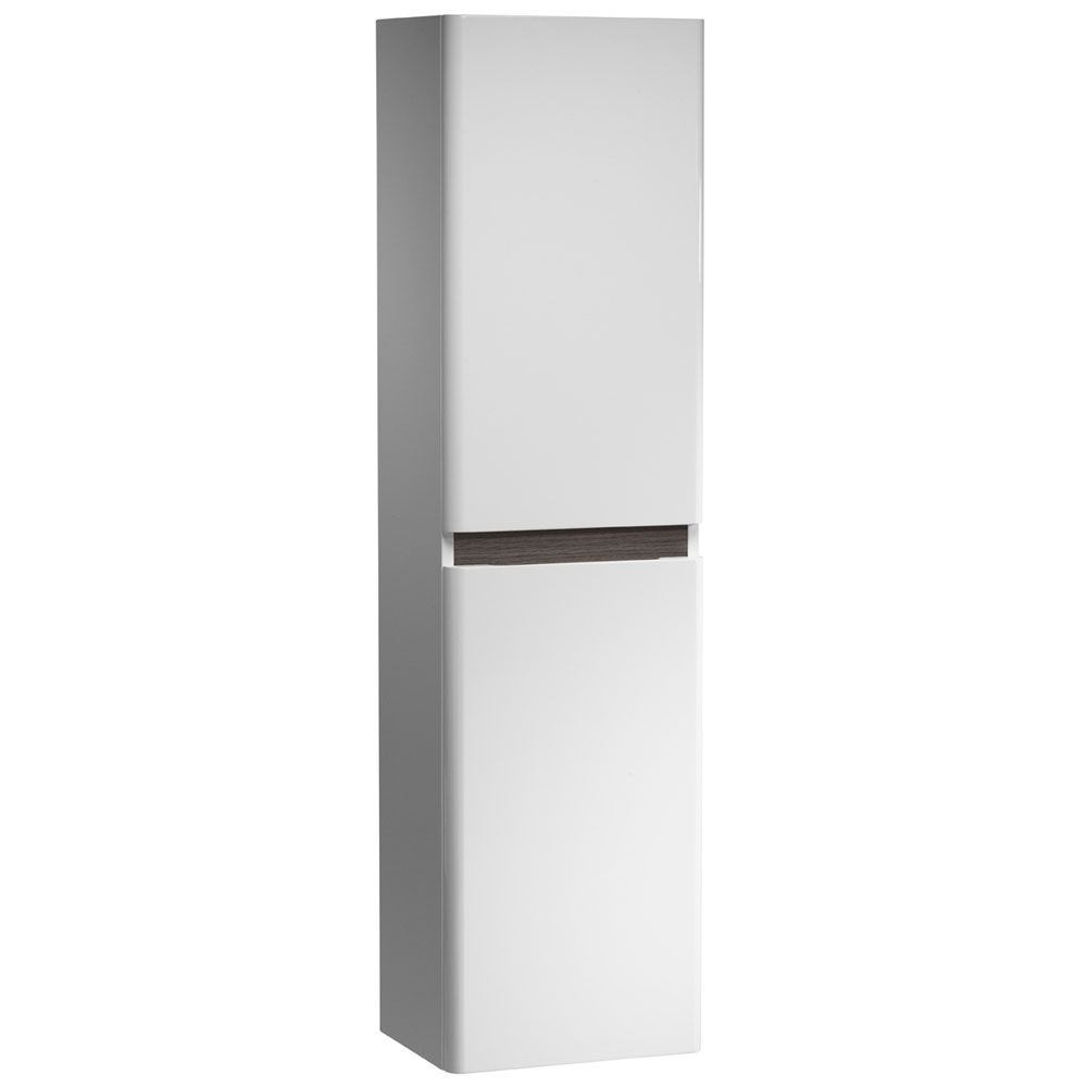 Tavistock Equate 330mm Storage Unit - Gloss White/Grey Oak profile large image view 1