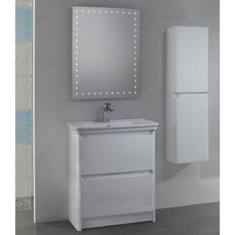 Tavistock Equate 700mm Freestanding Unit & Basin - Gloss White Feature Large Image