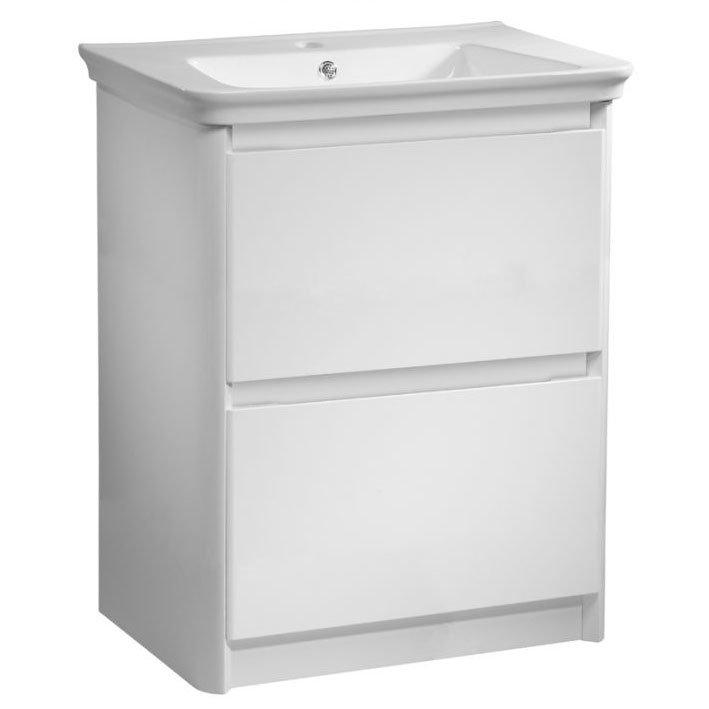 Tavistock Equate 700mm Freestanding Unit & Basin - Gloss White Large Image