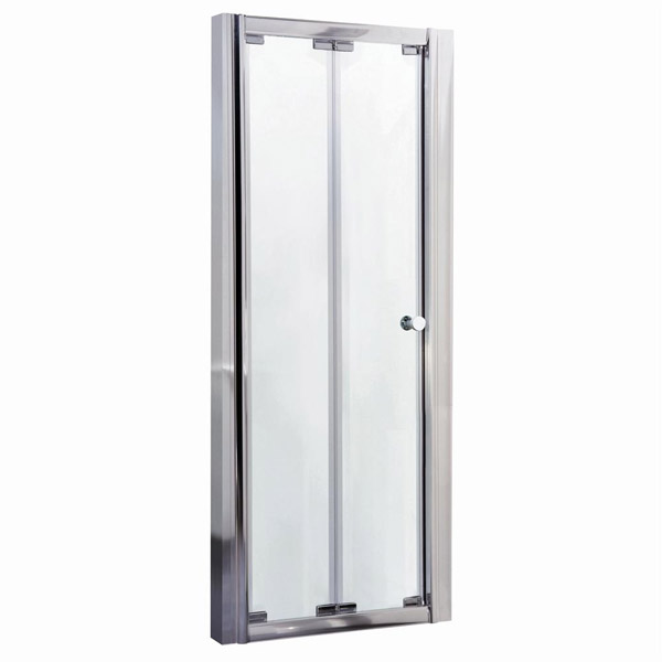 Ella Bi-Fold Folding Shower Door - Various Size Options  Profile Large Image