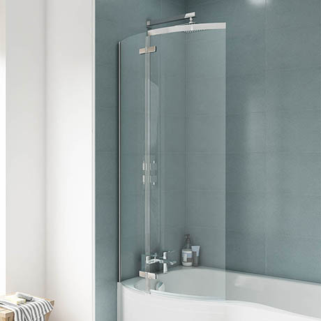 Ella 1400 Curved P-Bath Screen - ERCS0