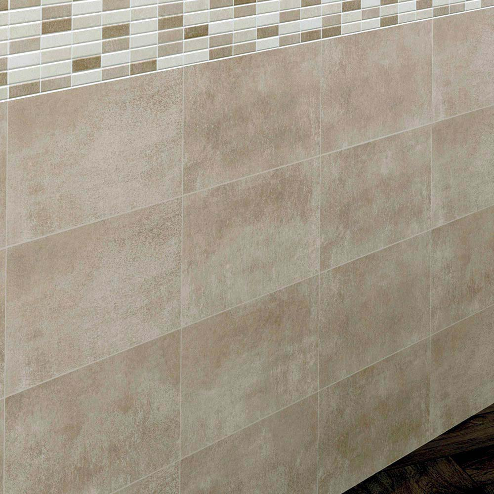 Eris Brown Porcelain Wall and Floor Tile - 250 x 500mm  Profile Large Image