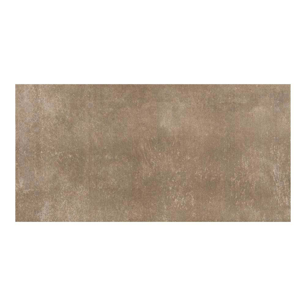Eris Brown Porcelain Wall and Floor Tile - 250 x 500mm Large Image