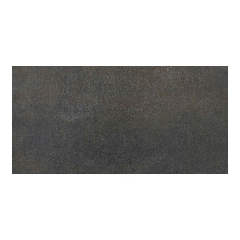 Eris Graphite Porcelain Wall and Floor Tile - 250 x 500mm Large Image