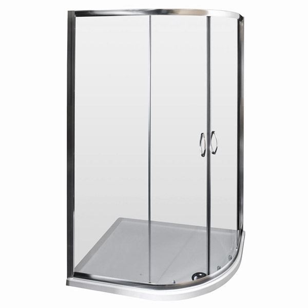 Ella Offset Quadrant Enclosure - 1200 x 800mm - ERQ128 - Enclosure Only  Profile Large Image