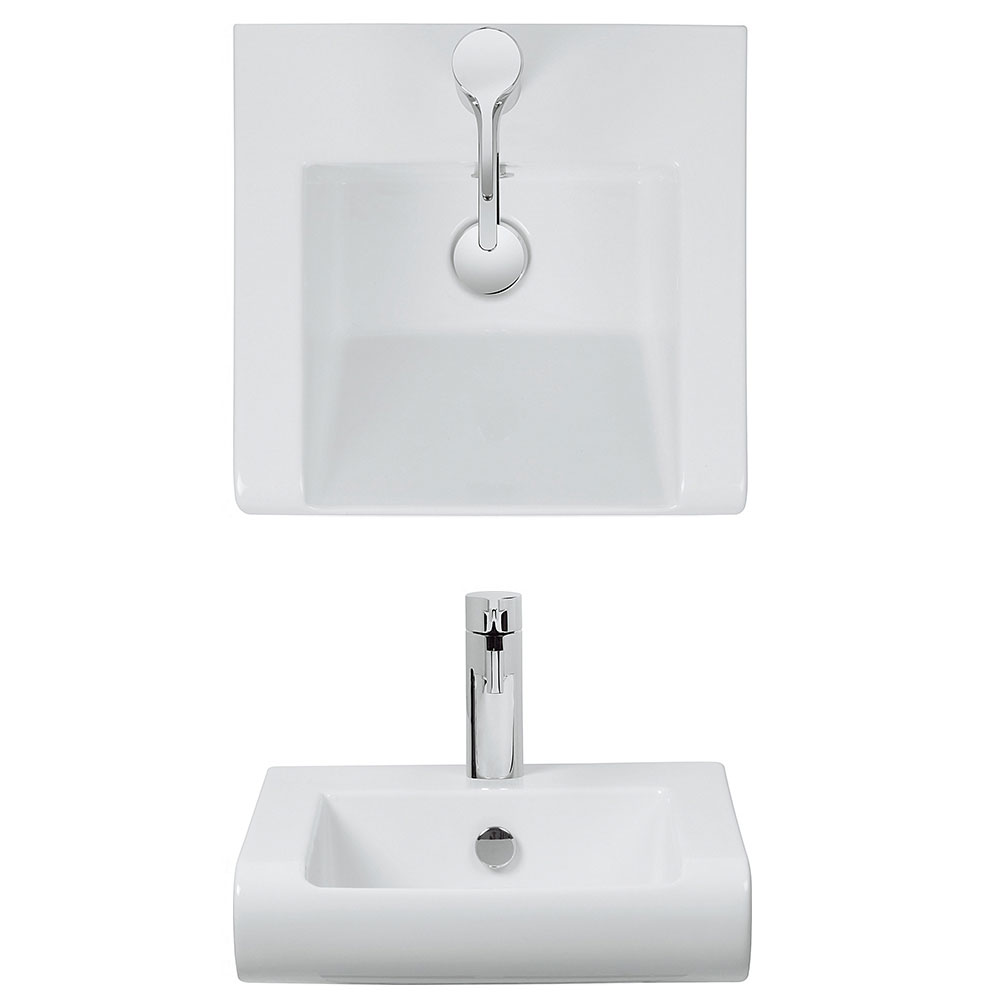Bauhaus - Essence 1 Tap Hole Semi Recessed Basin profile large image view 2
