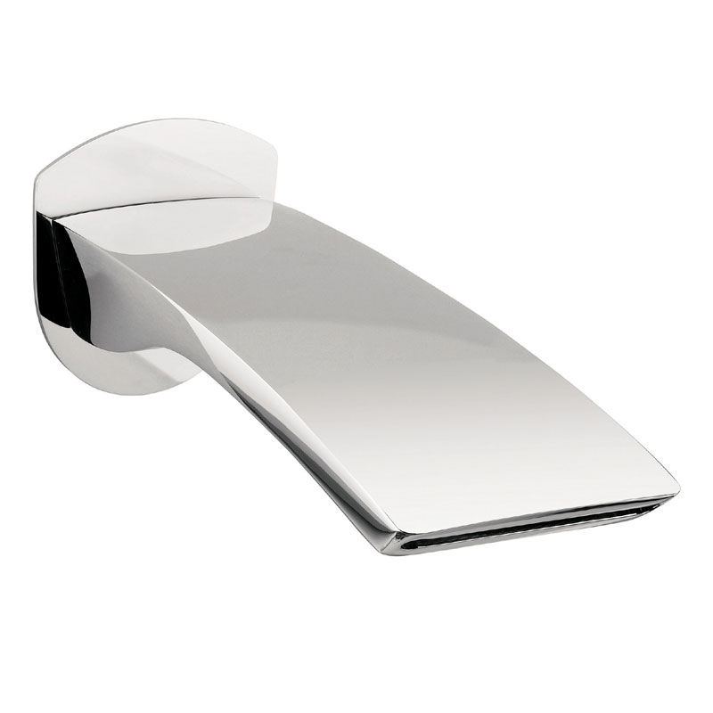 Crosswater - Essence Wall Mounted Waterfall Bath Spout - ES0370WC Large Image