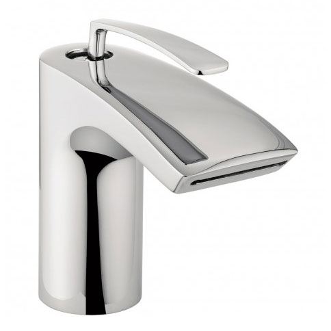Crosswater - Essence Monobloc Basin Mixer - ES110DNC profile large image view 1