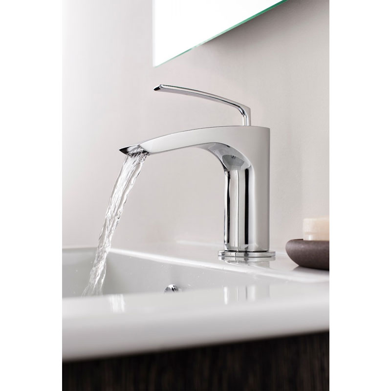 Crosswater - Essence Mini Monobloc Basin Mixer - ES114DNC Profile Large Image