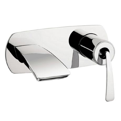 Crosswater - Essence Wall Mounted 2 Hole Set Basin Mixer - ES121WNC