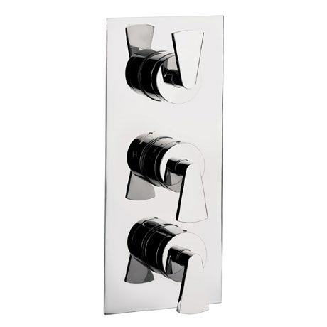 Crosswater - Essence Triple Concealed Thermostatic Shower Valve - ES2000RC