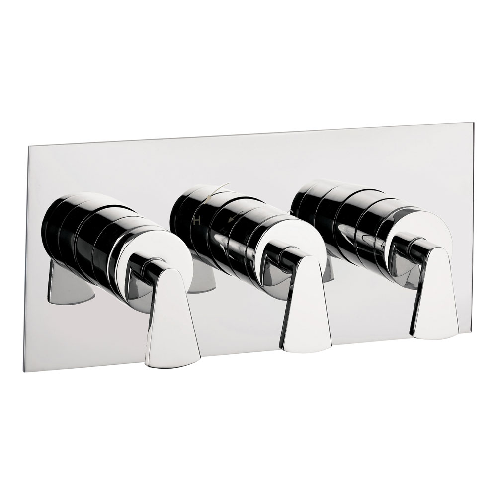 Crosswater - Essence Triple Concealed Thermostatic Shower Valve - ES2001RC