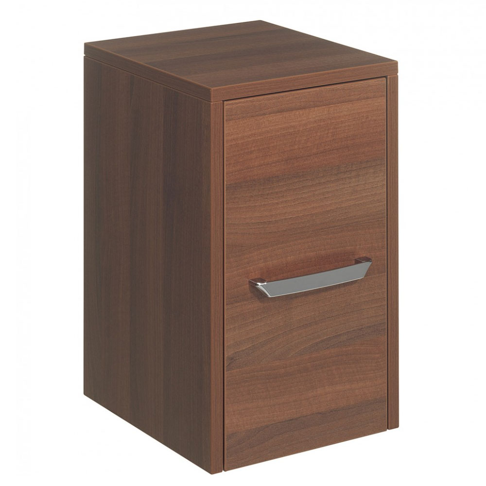 Bauhaus - Essence 30 Single Door Storage Unit - Walnut - ES3035FWT Large Image