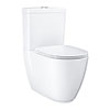 Grohe Essence Rimless Close Coupled Toilet with Soft Close Seat (Bottom Inlet) profile small image view 1