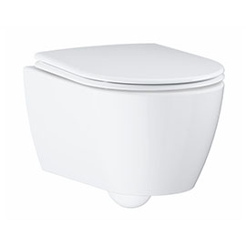 Grohe Essence Rimless Wall Hung Toilet with Soft Close Seat
