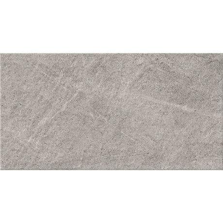Esta Dark Grey Stone Effect Wall Tiles - 316 x 600mm