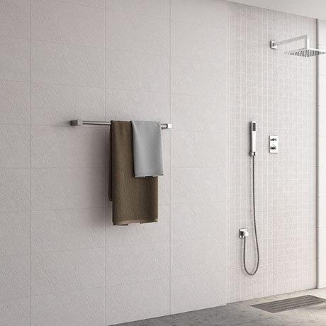 Esta White Stone Effect Wall Tiles - 316 x 600mm