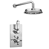 "Thames Traditional Shower Package with Concealed Valve + 8"" AirTec Head profile small image view 1"