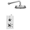 """Thames Traditional Shower Package with Concealed Valve + 8"""" AirTec Head profile small image view 1"""